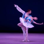 """""""Raymonda"""": Artjom Maksakov & Olga Malinovskaya, NYIBC 2009. Photo by Whitney Browne."""