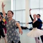 "Cynthia Gregory coaching ""Raymonda"", NYIBC 2009. Photo by Whitney Browne."